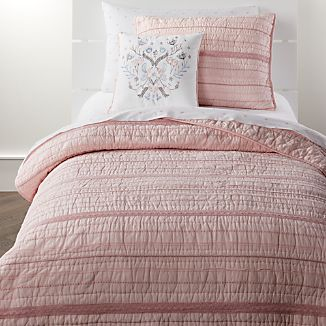 Pink Comforters Crate And Barrel