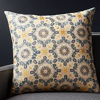 "Pavati 23"" Pillow with Down-Alternative Insert"
