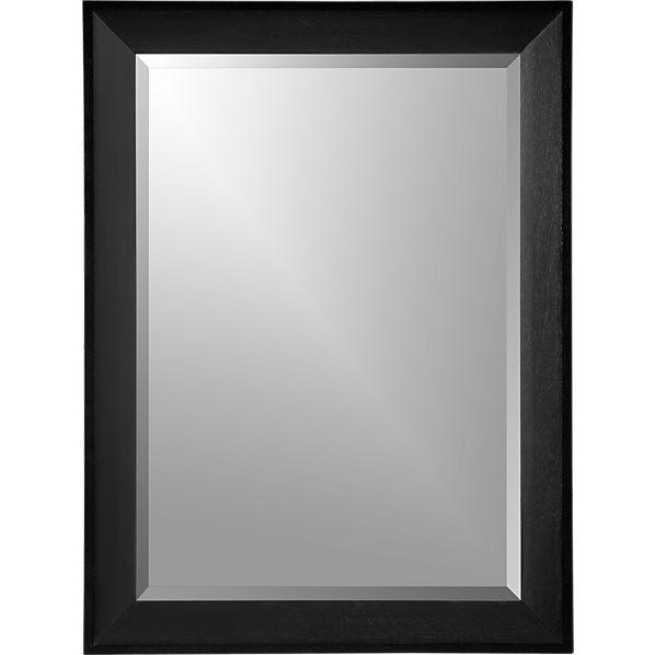 Pavillion Black Wall Mirror