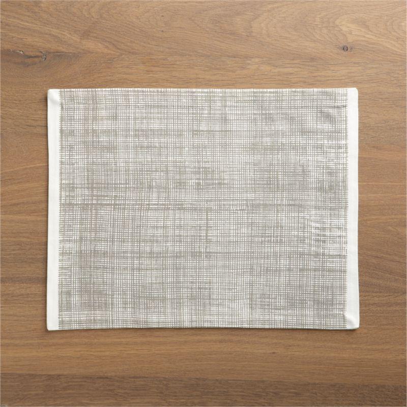 Casual graphics and soft neutrals open up in a cheerful, hand-drawn plaid framed in crisp white.<br /><br /><NEWTAG/><ul><li>100% cotton</li><li>Machine wash, tumble dry; warm iron as needed</li><li>Made in India</li></ul>