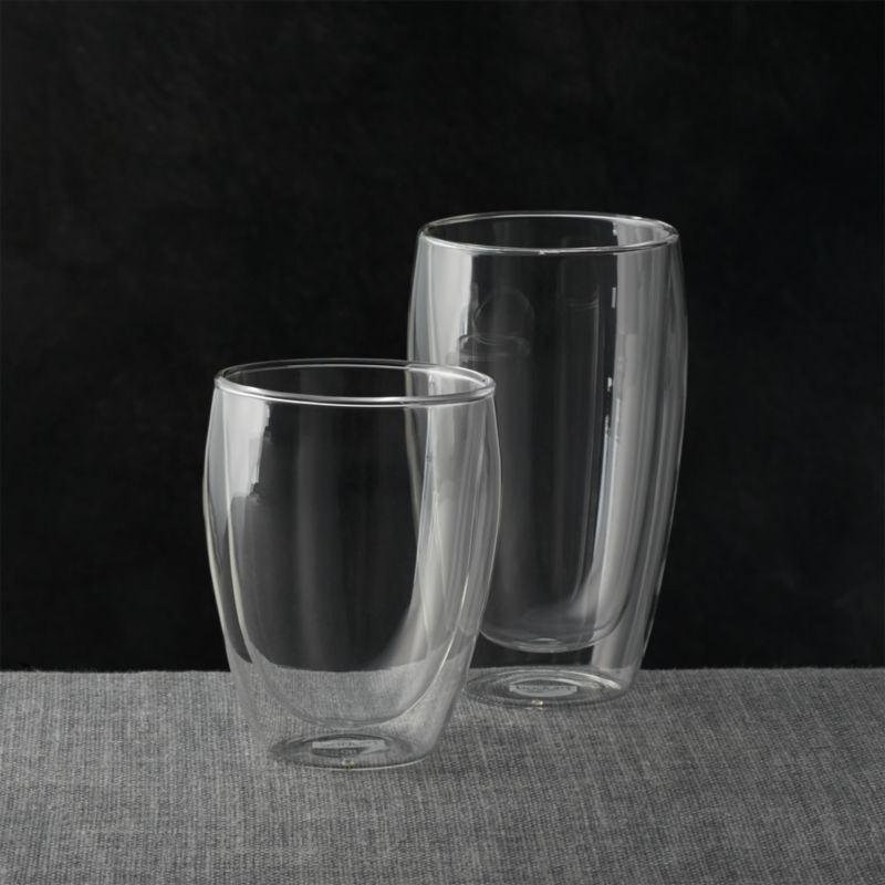 Bodum Pavina Glass Tumblers Crate And Barrel