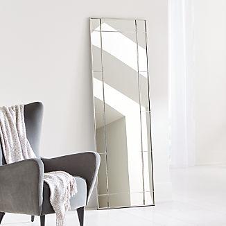 Payne Silver Window Floor Mirror