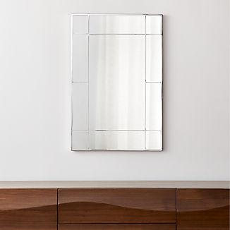 Payne Silver Window Wall Mirror