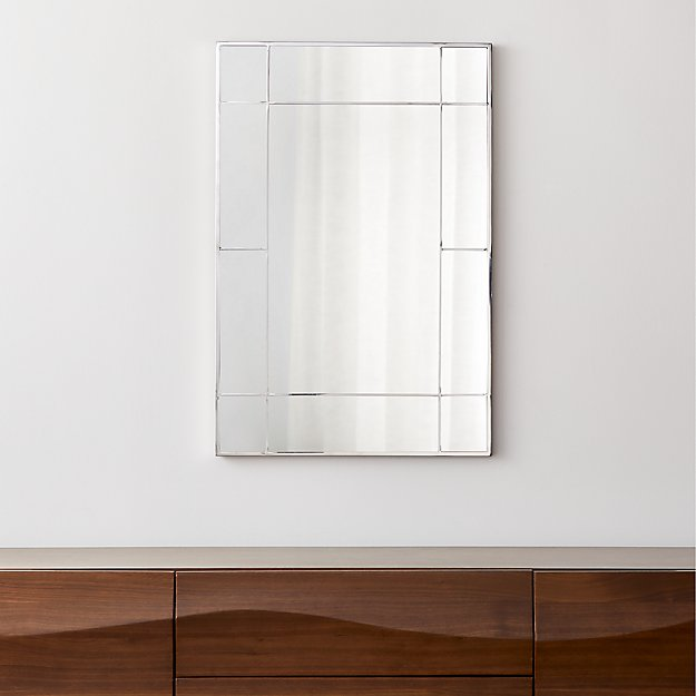Payne Silver Window Wall Mirror - Image 1 of 6