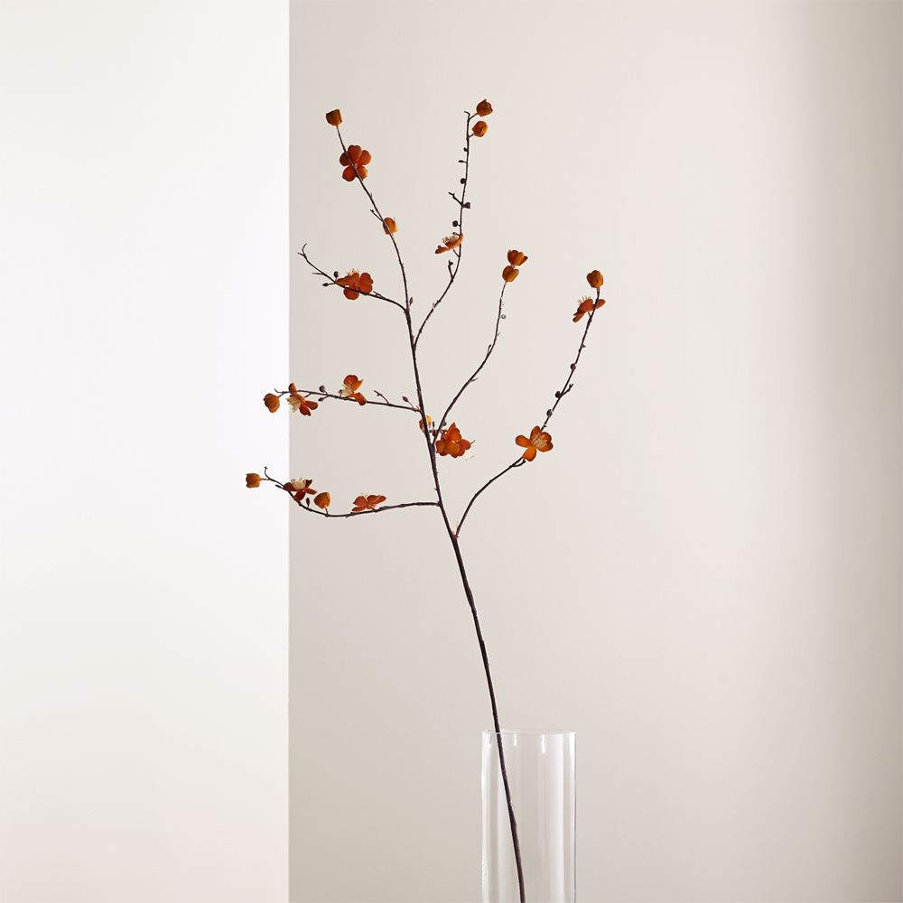 Online Designer Living Room Peach Blossom Flower Spray