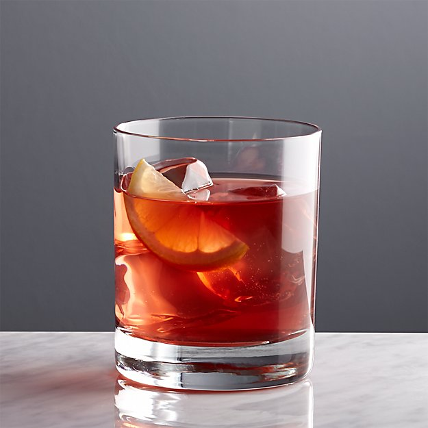 Double Old Fashioned Glass Set Of