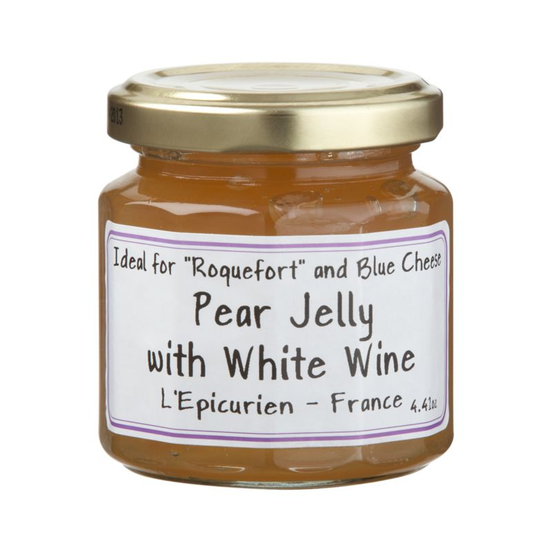 Only carefully selected fruits go into L'Epicurien's old-fashioned copper kettles to make this gourmet preserve from the South of France.<br /><br /><NEWTAG/><ul><li>Pear jam with white wine contains white wine from Pays d'Oc, fruit sugars, Williams pears, cane sugar, fruit pectin, calcium citrate and tartaric acid</li><li>Gluten-free</li><li>Made in France</li></ul>