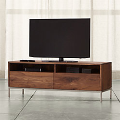 Pearson 72 Quot Media Console Reviews Crate And Barrel