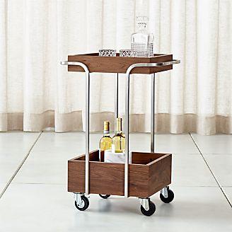 Bar Carts And Bar Cabinets Crate And Barrel