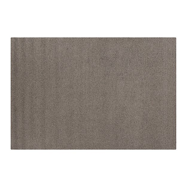 Pebble Grey Wool-Blend 8'x10' Rug