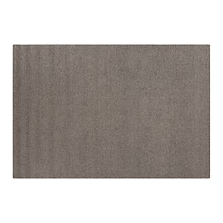 Pebble Grey Wool-Blend 9'x12' Rug