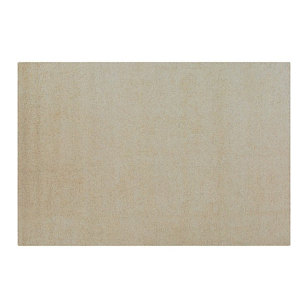 Pebble Ivory Wool-Blend 6'x9' Rug