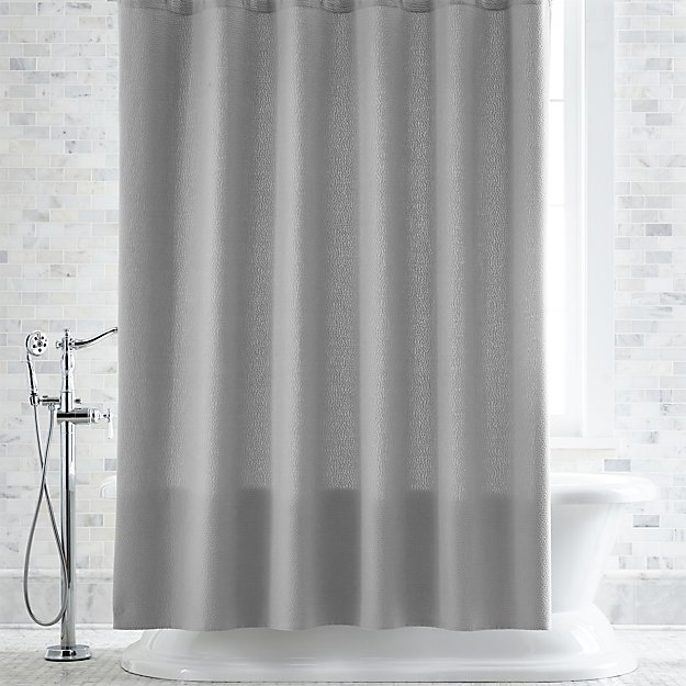 Pebble Matelasse Grey Shower Curtain Reviews