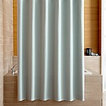Pebble Matelassé Spa Blue Shower Curtain