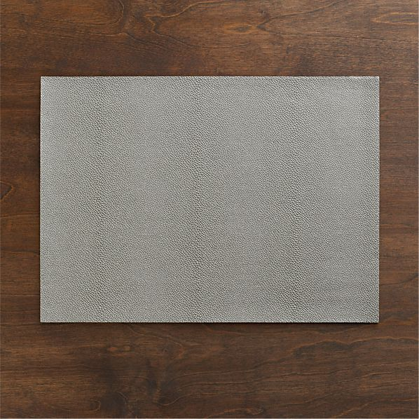 Pebble Grey Placemat