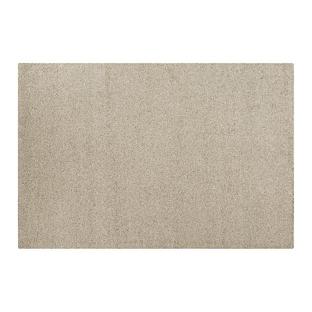 Pebble Silver Wool-Blend 8'x10' Rug