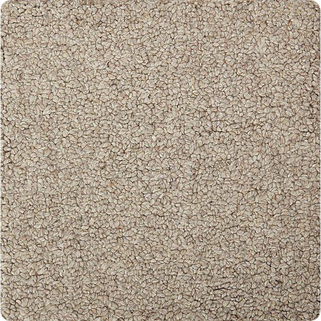 "Pebble Silver Wool-Blend 12"" sq. Rug Swatch"