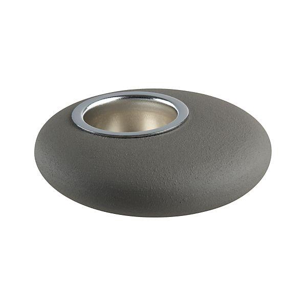Small Pebble Candleholder