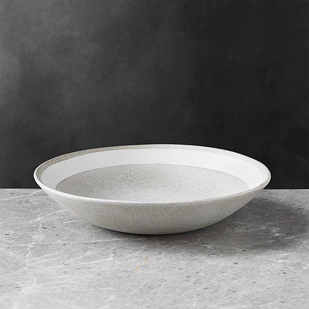 Pedra Artisan Low Bowl - Image 1 of 6