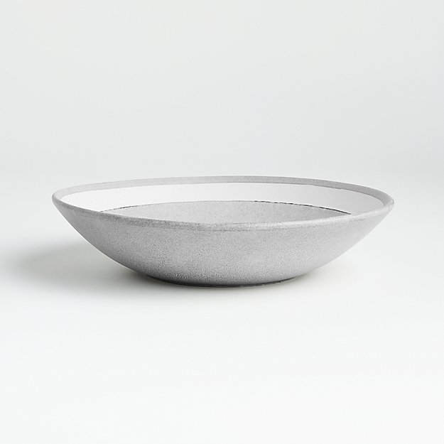 Pedra Artisan Low Bowl - Image 1 of 6