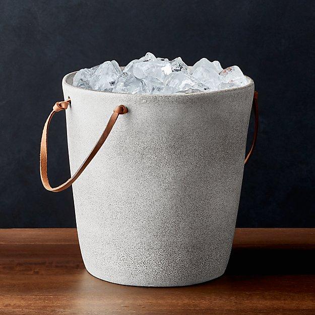 Pedra Ceramic Ice Bucket - Image 1 of 4