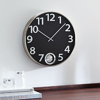 "Pendulum 16"" Wall Clock"