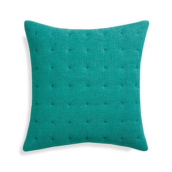 """Pelham Blue 20"""" Pillow with Down-Alternative Insert"""