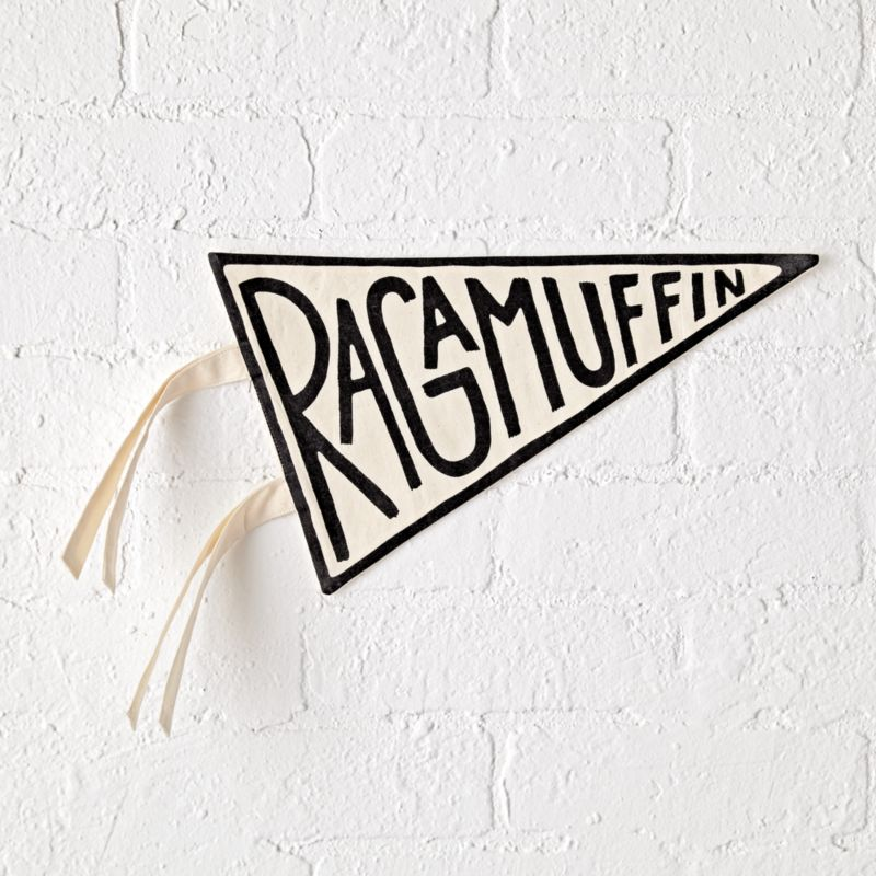 Fabric Ragamuffin Pennant by Crate&Barrel