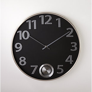 Lorne Large Wall Clock Reviews Crate And Barrel