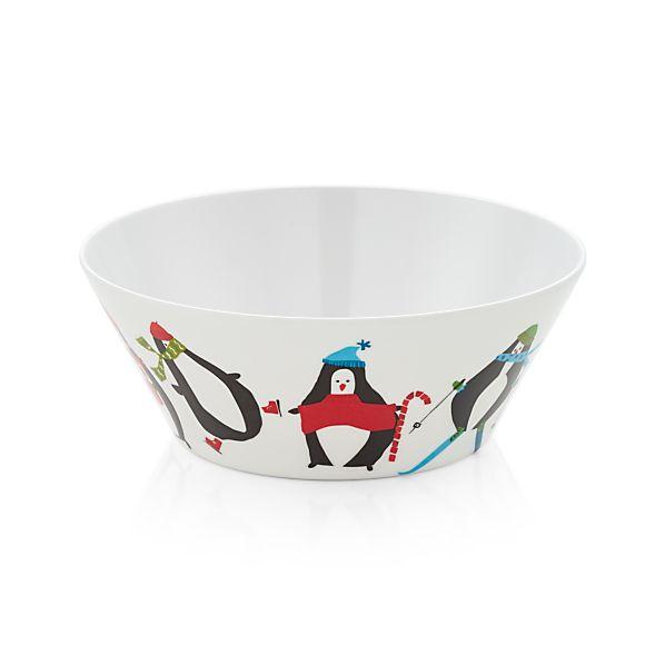 PenguinMelamineBowlF17