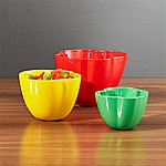 Pepper Bowls, Set of 3