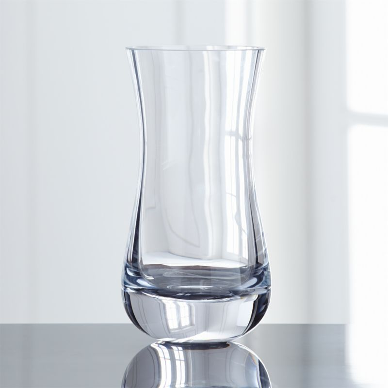 Pera Curved Glass Vase Reviews Crate And Barrel