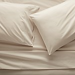 Parchment Percale Sheet Set King