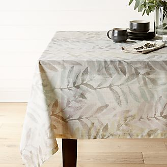 Perennial Leaf Tablecloth