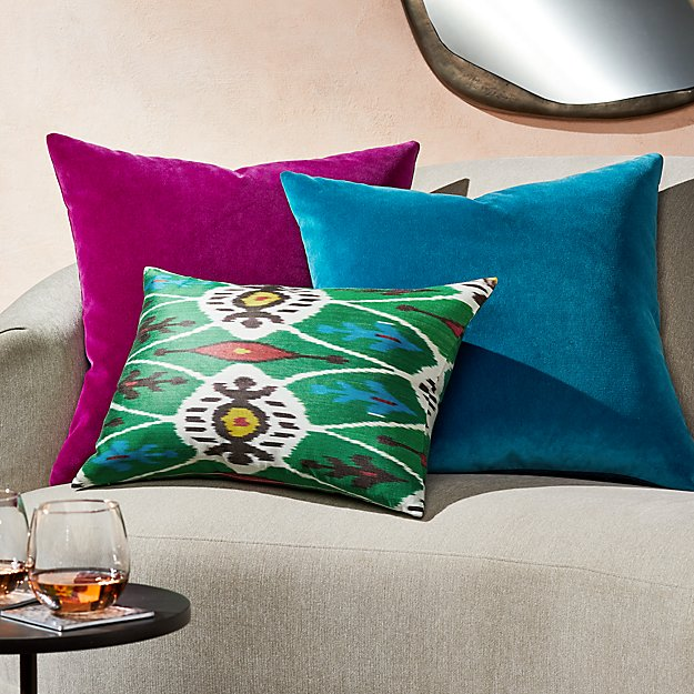 Violet and Teal Pillow Arrangement - Image 1 of 1
