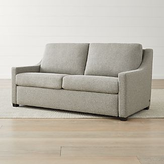 Leather Sleeper Sofas Crate And Barrel