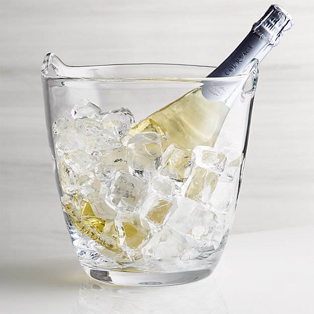Perry Glass Wine Bucket - Image 1 of 4