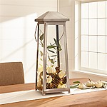 Petaluma Large Stainless Steel Lantern