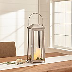 Petaluma Medium Stainless Steel Lantern