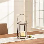 Petaluma Small Stainless Steel Lantern