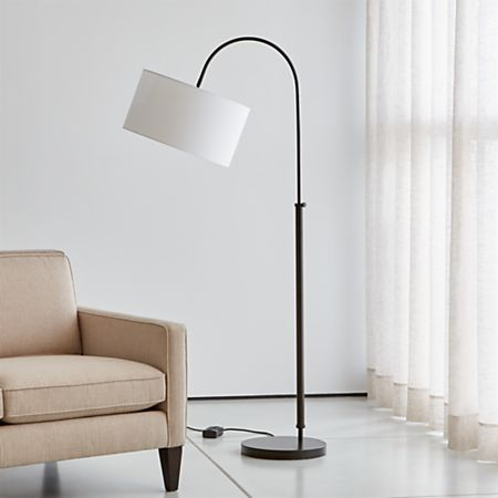 Pleasing Petite Bronze Adjustable Arc Floor Lamp Ibusinesslaw Wood Chair Design Ideas Ibusinesslaworg