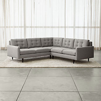 Corner Sectional Sofas | Crate and Barrel
