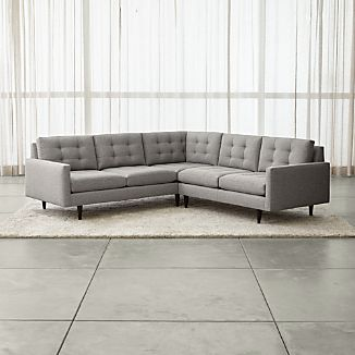 Corner Sectional Sofas Crate and Barrel