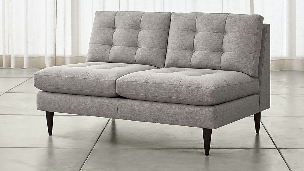 Petrie Armless Loveseat
