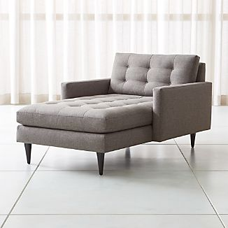 Petrie Midcentury Chaise Lounge