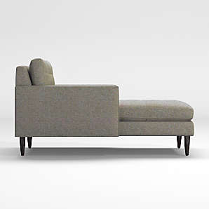 Tufted Chaise Lounges Crate And Barrel