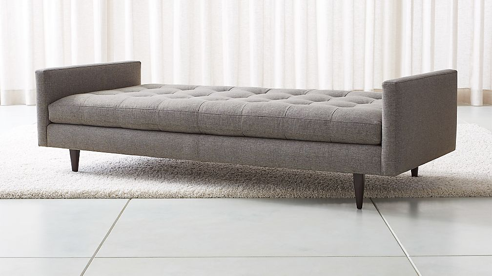 Petrie Midcentury Daybed Reviews Crate And Barrel