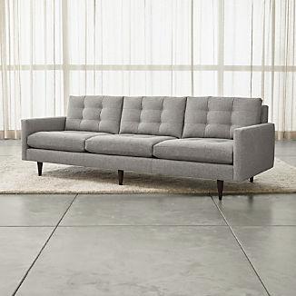 """Petrie 100"""" Grande Midcentury Sofa"""