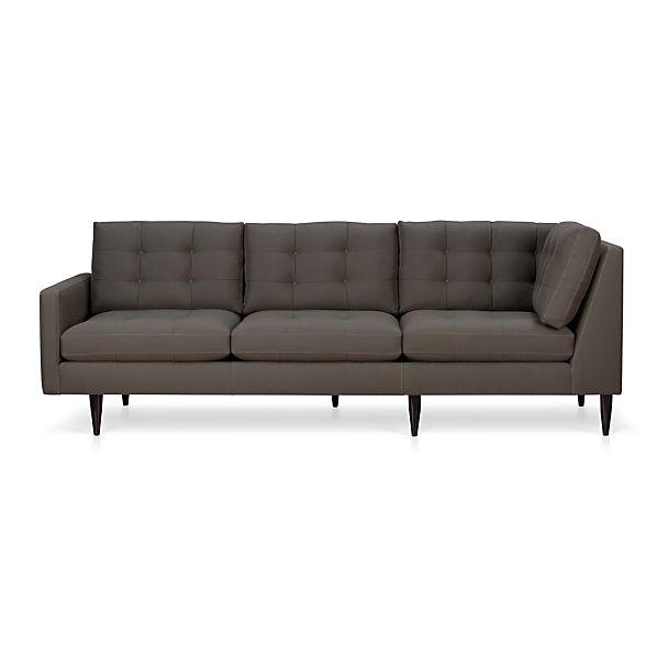 Petrie Left Arm Corner Sectional Sofa
