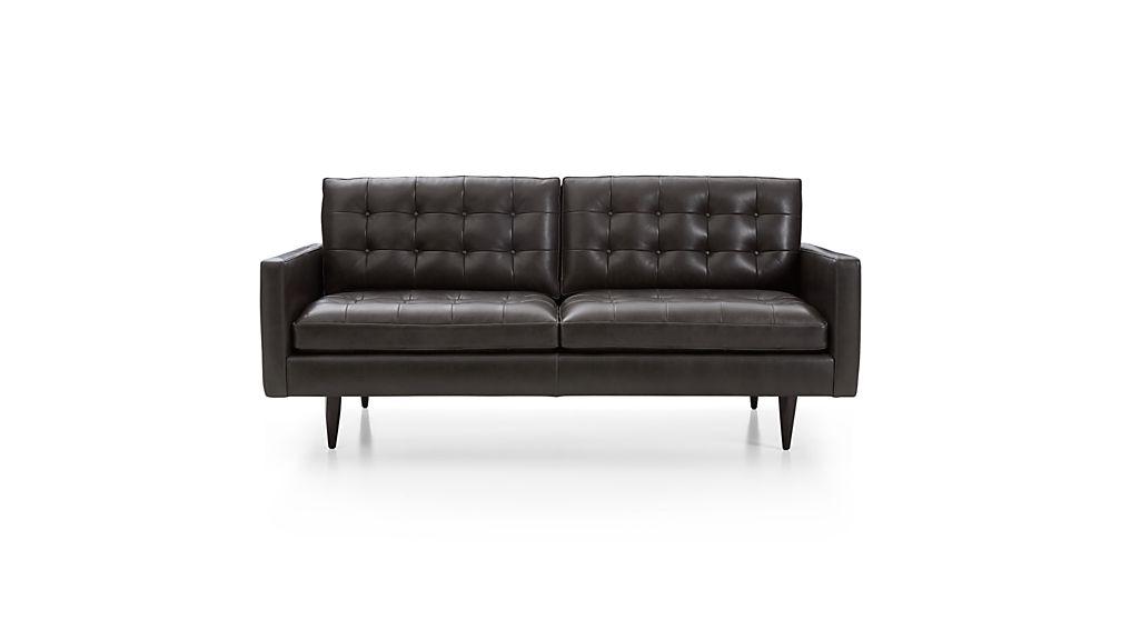 Petrie Leather Apartment Sofa